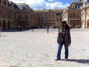 Nikki at Versailles