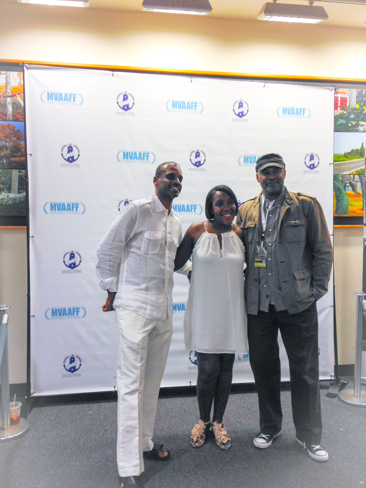 Mr. & Mrs. Rance with filmmaker Nelson George