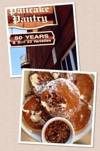 Pecan Pancakes at Pancake Pantry