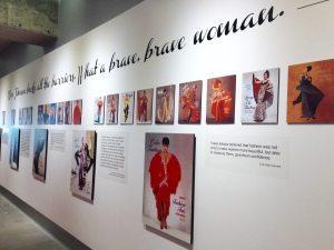 ebony fashion fair wall, fashion fair, atlanta, things to do in atlanta, ebony beauty, ebony fashion