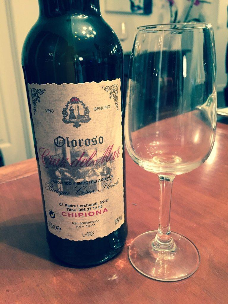 A tasty sherry-Cruz del Mar Oloroso