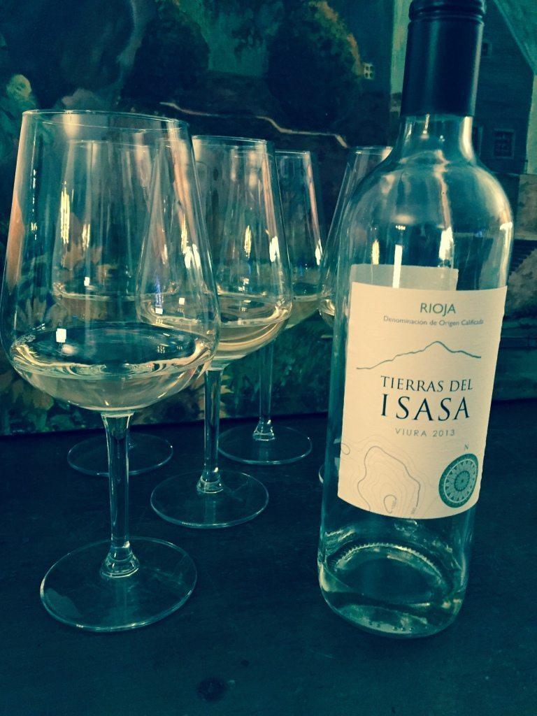 A white Rioja from Tierras Del Isasa-Viura 2013