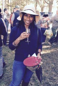 Enjoying the day at Afternoon in the Country in Atlanta-a Food & Wine Event