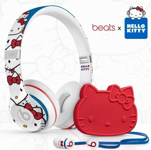Beats By Dre Headphones in an adorable Hello Kitty edition