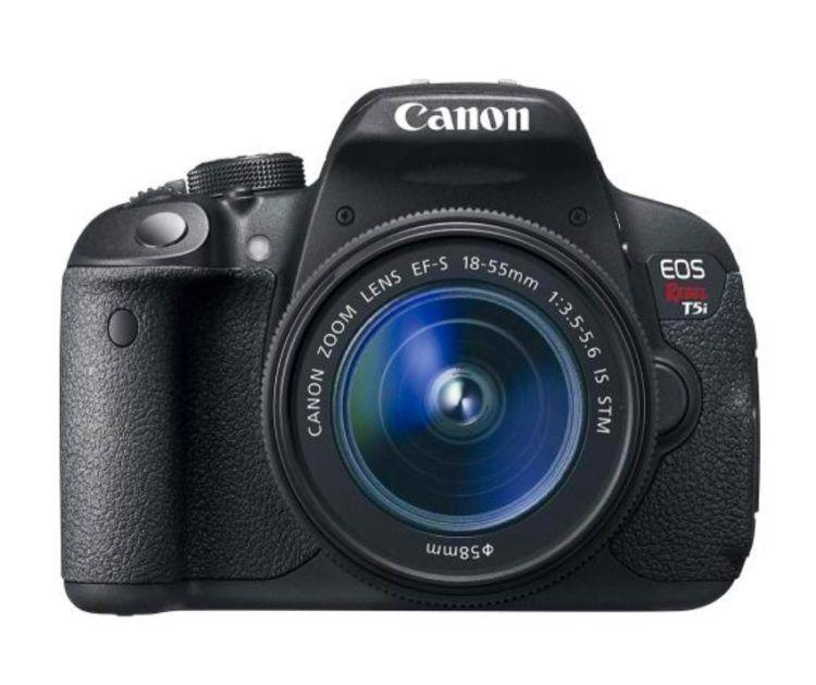 Canon EOS Rebel DSLR camera perfect for taking breathtaking images!
