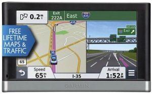 Garmin-Nuvi GPS navigator with bluetooth