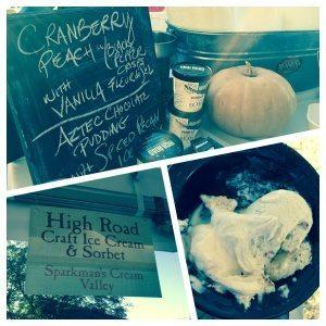 High Road Craft Ice Cream at Afternoon in the Country in Atlanta