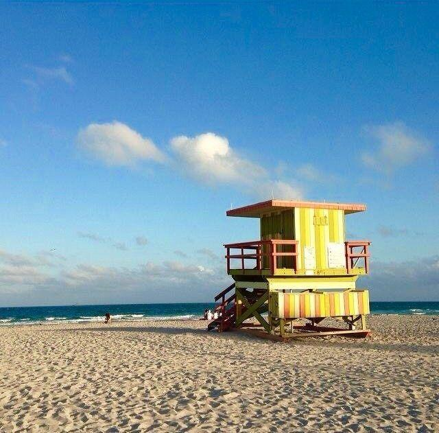 The sand, the sky, the beauty of Miami Beach