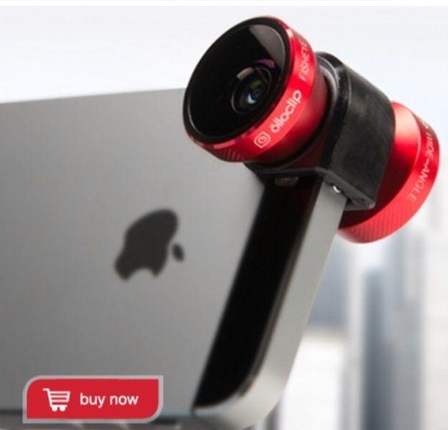 Olloclip Iphone lens for better images!