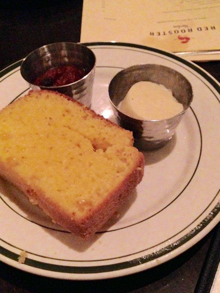 red rooster corn bread