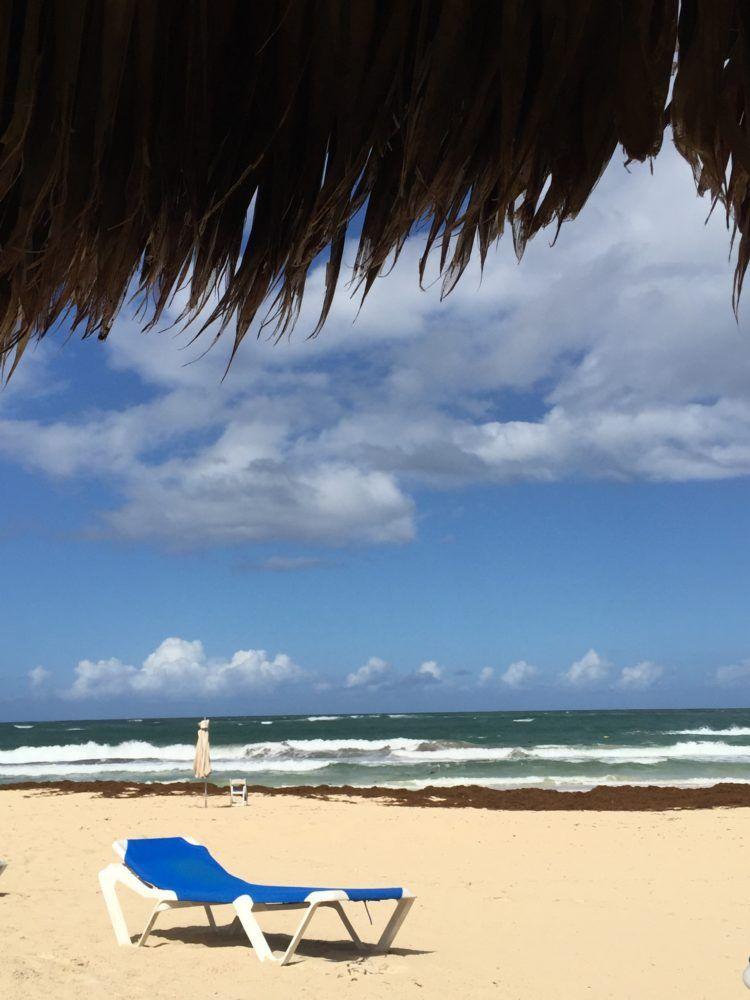 Resort Review:Hard Hotel Punta Cana:The beautiful beachfront of the Hard Rock Hotel Punta Cana!