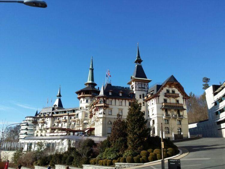 Travel to Zurich to visit the famous Dolder Grand Hotel!