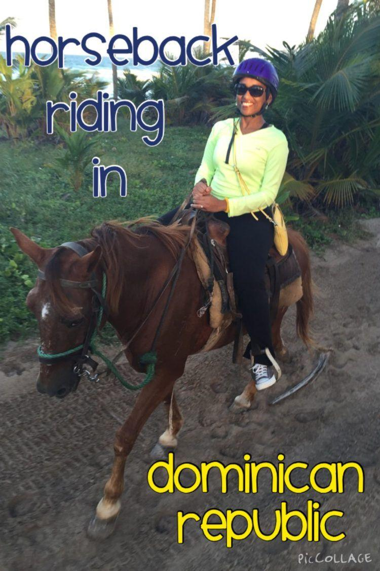 Horseback Riding on the Beach in Punta Cana, Dominican Republic!