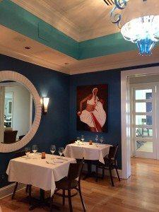 Asante Restaurant in Atlanta-the Blue Room