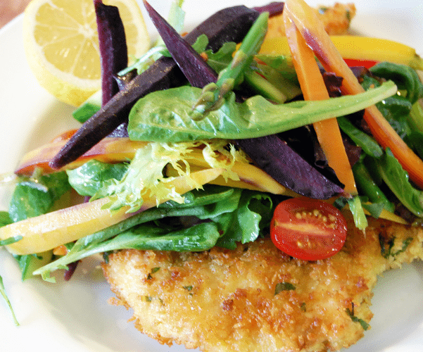 Chef Therese Nelson & Black Culinary History. Chicken Milanese.