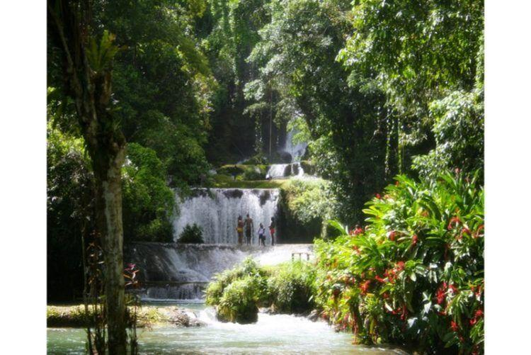 Visit Jamaica:Land I Love. YS Waterfalls in Jamaica.
