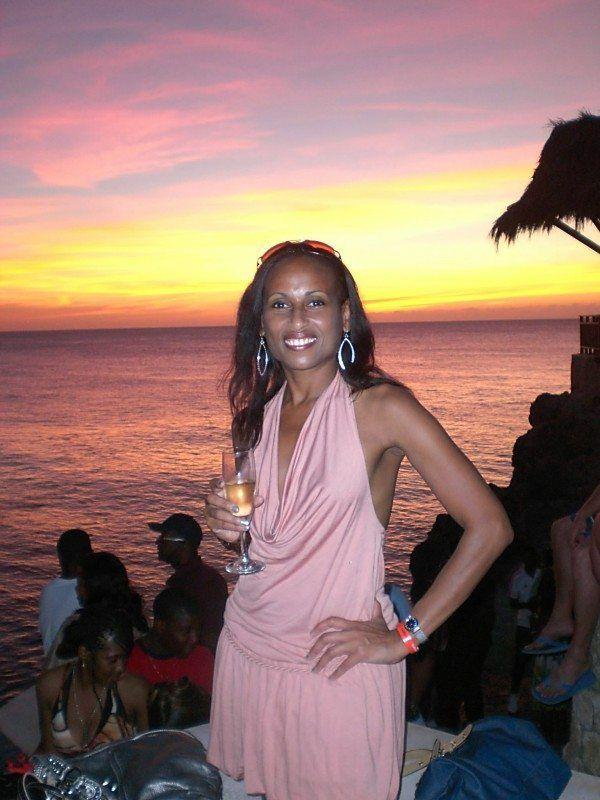Visit Jamaica: Land I Love. Sunset at Rick's Cafe in Negril Jamaica!