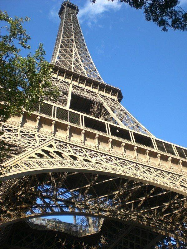 Paris Favorite Sites in the City of Lights. The Eiffel Tower.