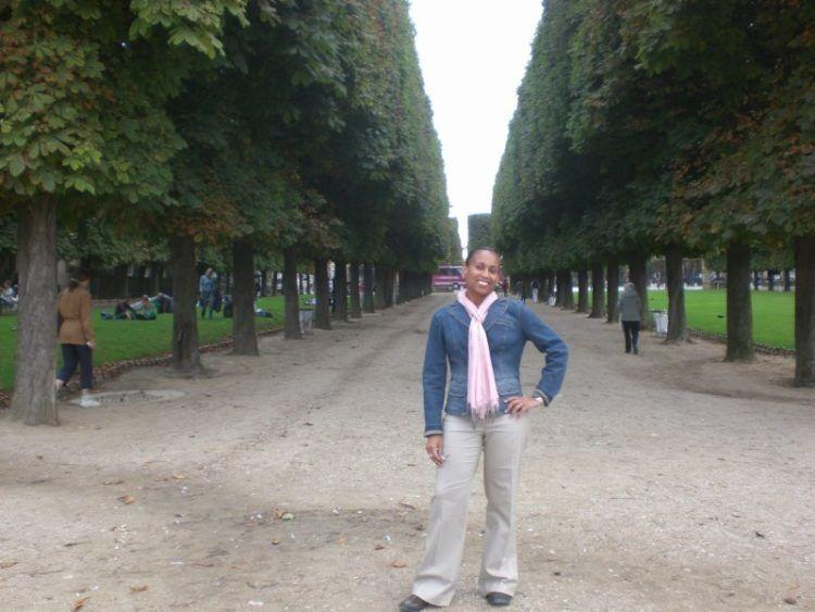 Paris-Favorite Sites in the City of Lights. Luxembourg Gardens in Paris, France.