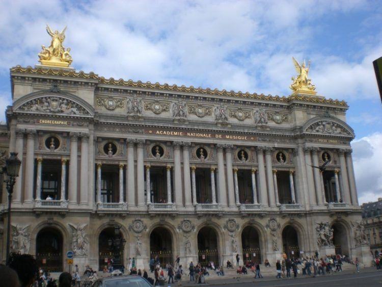 Paris Favorite Sites in the City of Lights. Paris Opera House.