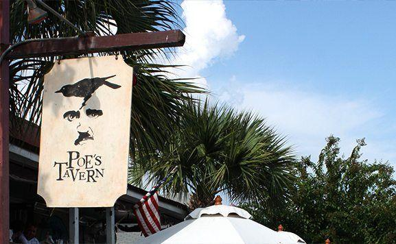 "Poe's Tavern in Charleston. The Blog Series ""Top 5 Restaurant Picks"" continues with Charleston restaurants! Read what a Charleston blogger had to say about which restaurants and foods you should try in Charleston South Carolina!"