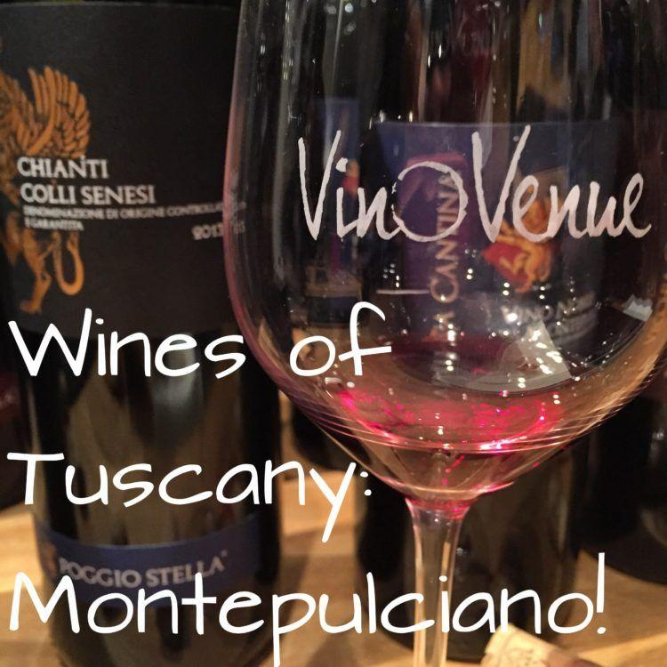 Tuscany Wine Tasting! Wines of Montepulciano! Learn about Italian red wines from this beautiful region!