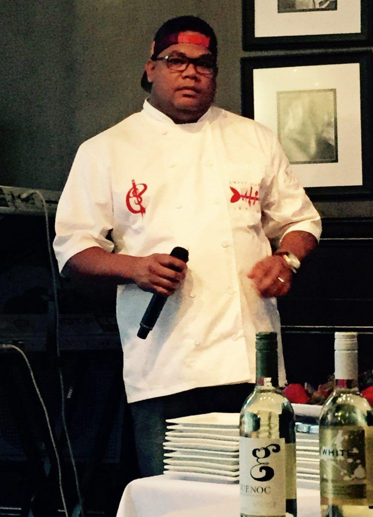 Aroma Mondays at Sweet Auburn Seafood Restaurant in Atlanta! Chef demonstrations, wine tastings and live music!