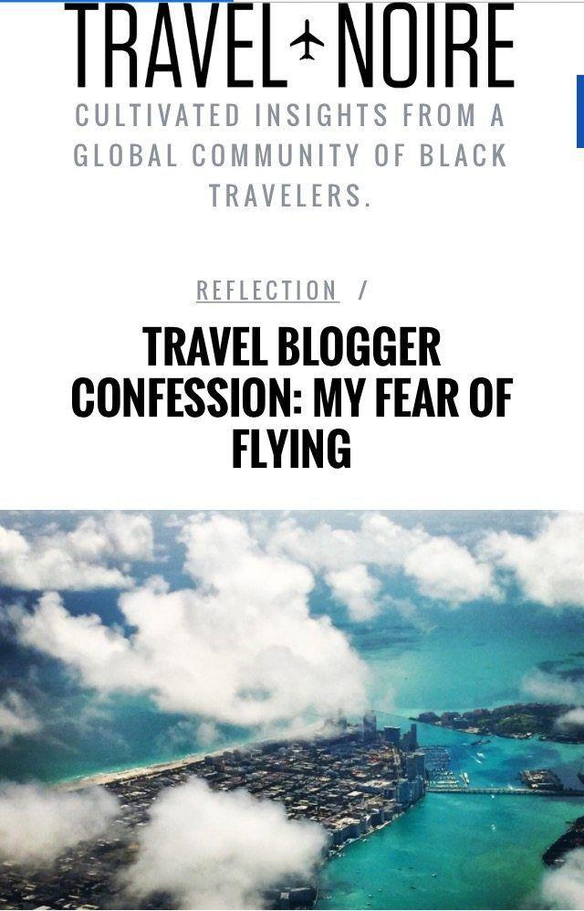 Travel Blogger Confession: My Fear of Flying.