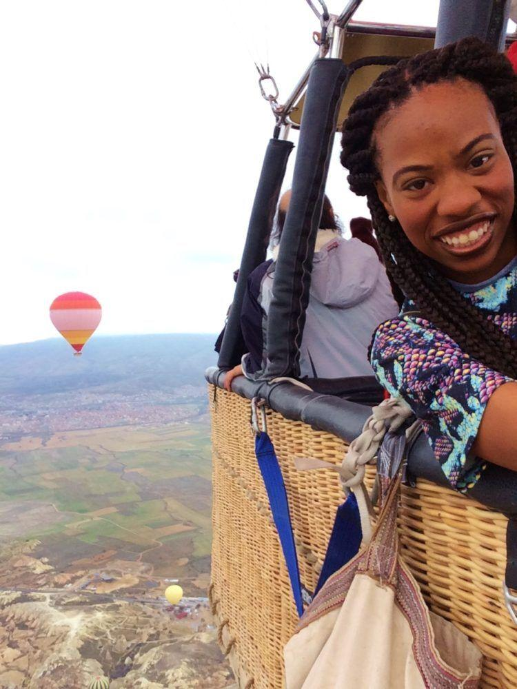 A Cappadocia hot air balloon ride! Read about this once in a lifetime experience in Turkey!