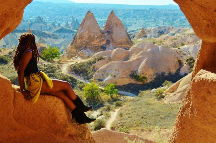 Cappadocia hot air balloon ride! Read about this once in a lifetime experience in the magical area of Cappadocia in Turkey!