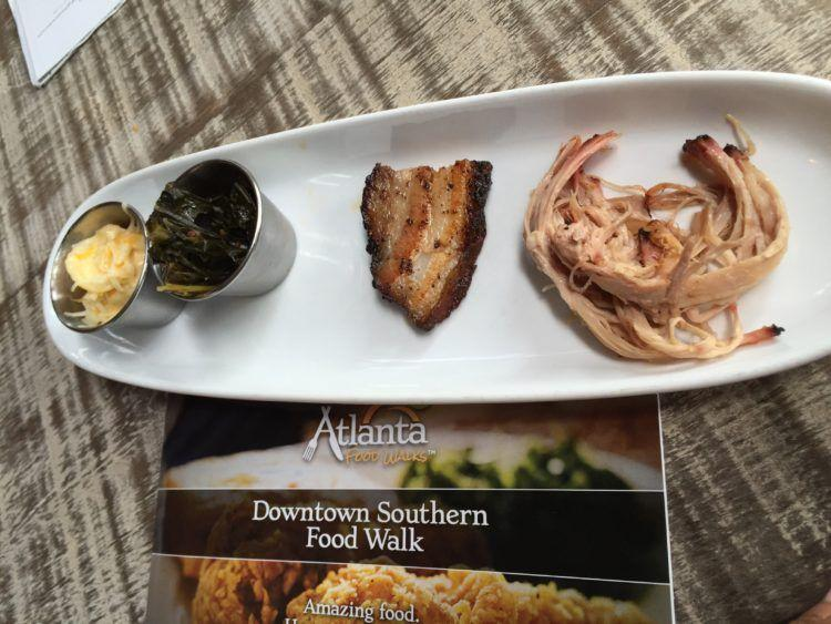 A Food Tour in Atlanta! Discover the Downtown Southern Food Walk Tour! Eat delicious traditional southern foods while learning about the historic area of Downtown Atlanta!