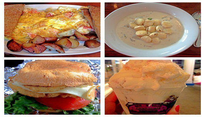 Where to eat seafood on Martha's Vineyard! From clam chowder to fish sandwiches to whole lobsters-this post describes it all!