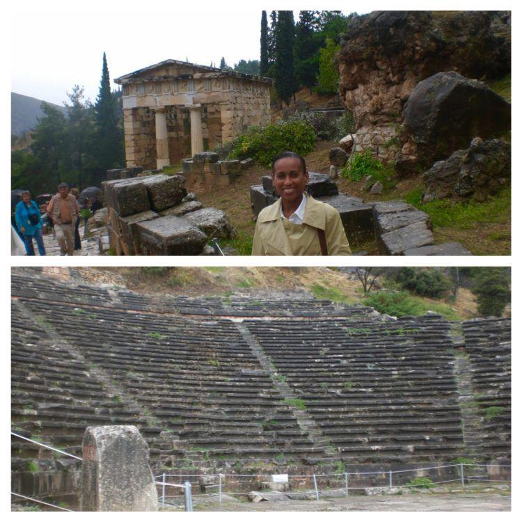 Visit Delphi Greece! Take a day trip from Athens to this historic area!