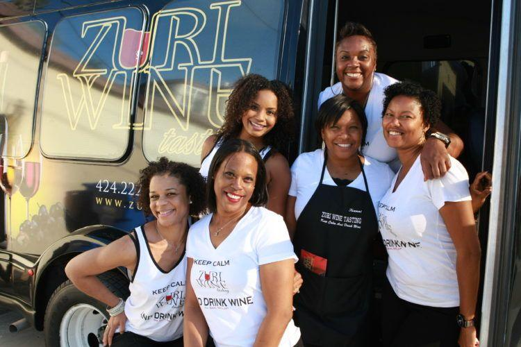 Zuri Wine Tasting & Tours! Get to know the owner of this black female owned wine company based in Los Angeles!