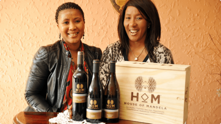 House of Mandela Wines, Tukwini Mandela, south africa wines