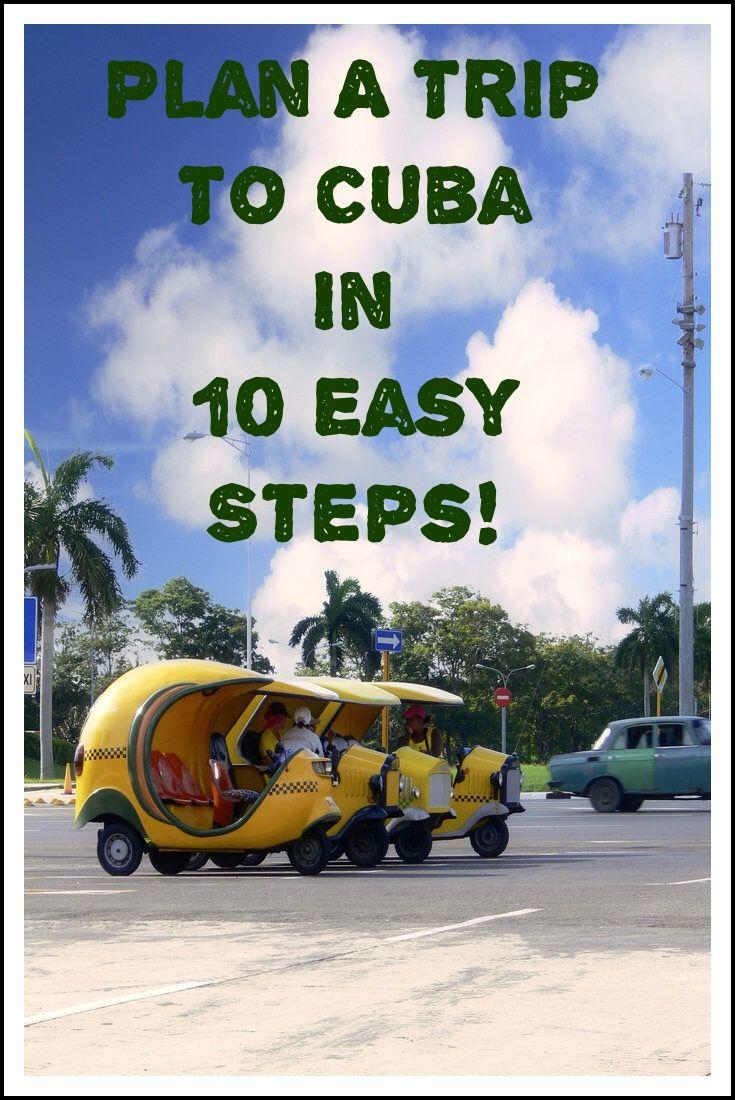 cuba travel, Plan a trip to Cuba in 10 easy steps! Includes helpful links for Americans traveling to Cuba!