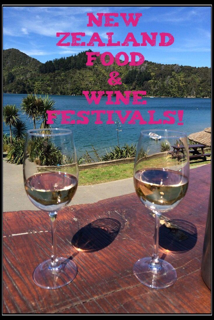 New Zealand Food & Wine Festivals!