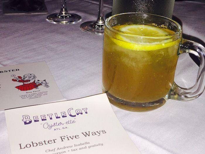 BeetleCat Atlanta: Lobster Five Ways Dinner!