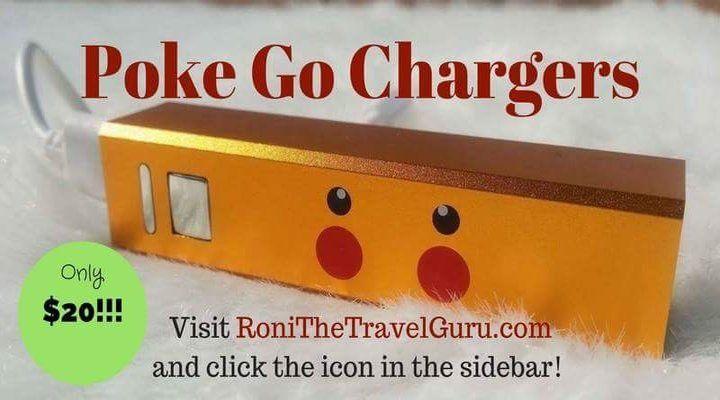 Poke Go phone chargers