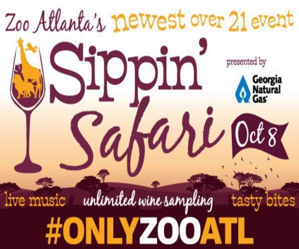 Attend the Sippin' Safari event at Zoo Atlanta!