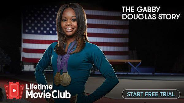 Lifetime Movie CLub App: Gabby Douglas