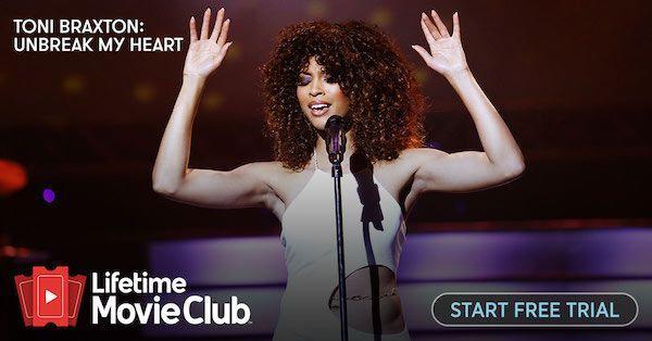 Lifetime Movie Club App: Toni Braxton