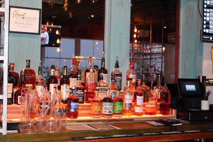 The Bourbon Bar at Wicked Tuna