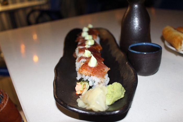 "The ""Wicked Tuna"" sushi roll"
