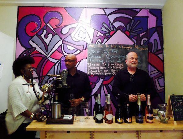Global Champagne Day Tasting at Purple Corkscrew Wine Shop!