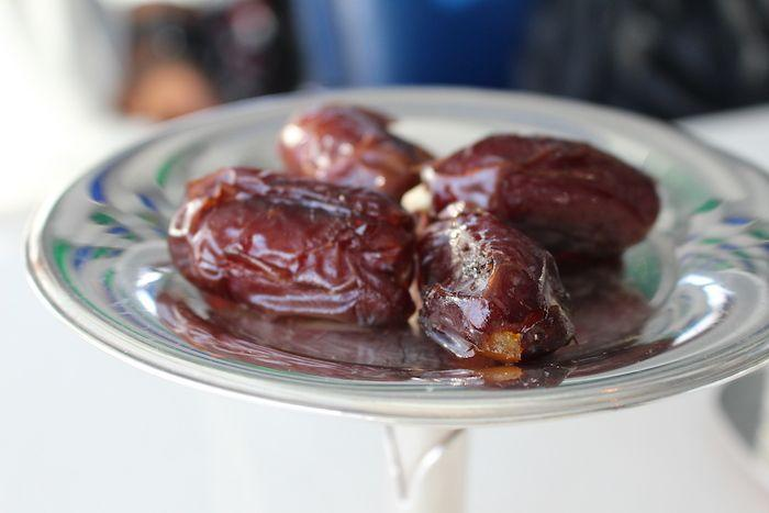 dates at Burj Al Arab
