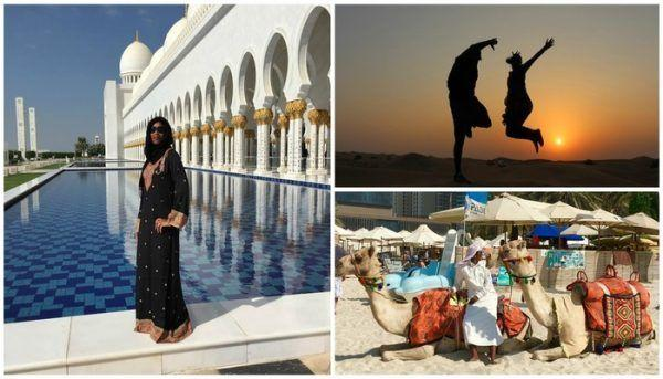 How I Spent 5 Days in Dubai and Abu Dhabi!