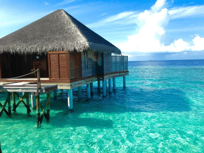 a water villa
