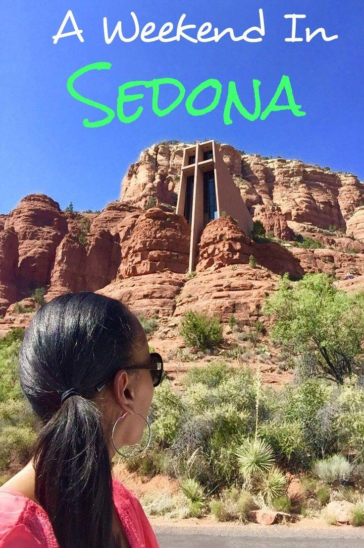 How To Spend A Fabulous Weekend In Sedona! A Travel Guide With A List of Things To Do & See in Sedona including Tours Through The Red Rocks, Spa Treatments, Great Shopping and Restaurants!