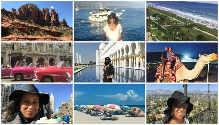 2016 Travel Recap! Cuba, New York City, Sedona Arizona, Miami Beach, Santa Barbara California, Dubai and Abu Dhabi, Myrtle Beach South Carolina....